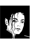 Disegno da colorare Michael Jackson