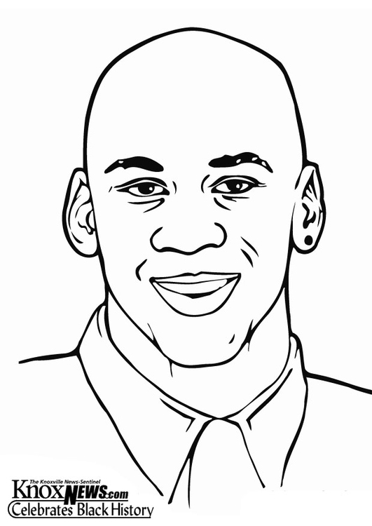 michael jordan coloring pages - disegno da colorare michael jordan cat 12858