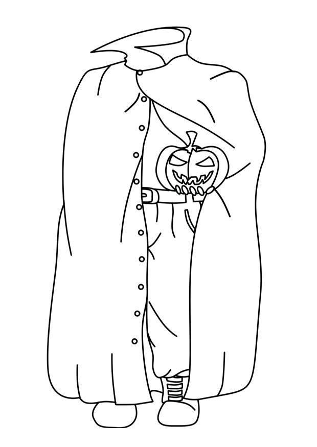 Disegno da colorare mostro halloween cat 16560 for Fantasmi disegni da colorare