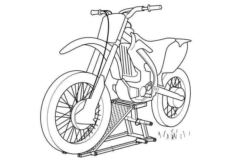 disegno da colorare moto  disegni da colorare e stampare