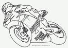 Disegno da colorare Moto GP
