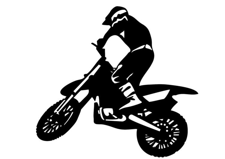 Disegno Da Colorare Motocross Cat 24762 Images