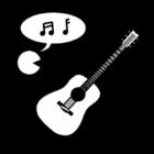 Disegno da colorare musica - canto e strumenti