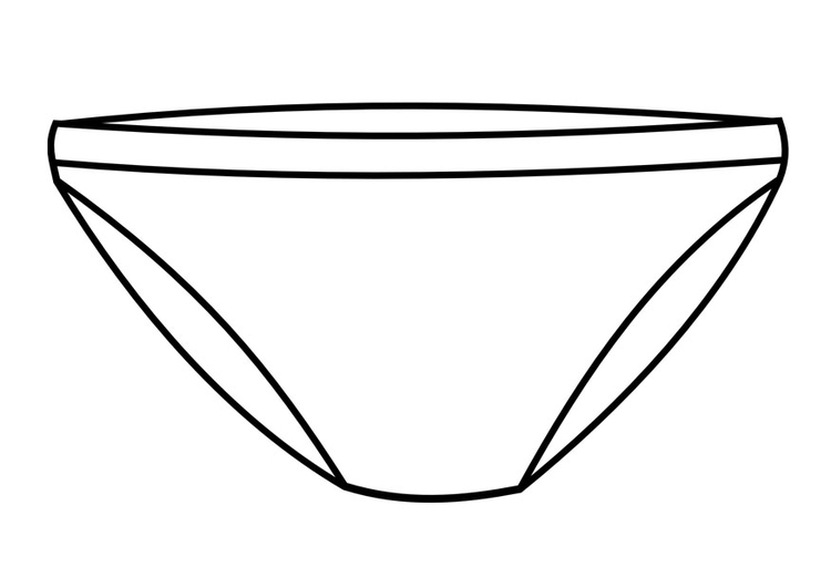 coloring pages underwear - photo#27