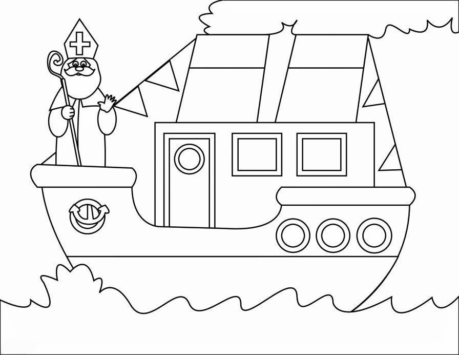 Disegno Da Colorare Nave A Vapore Cat 16167