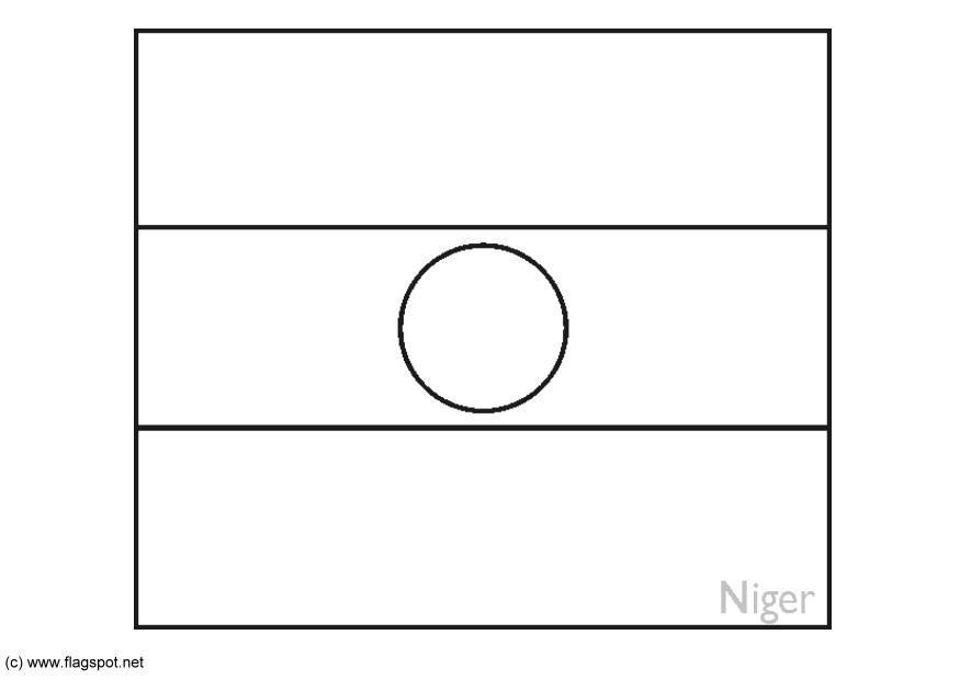 Disegno Da Colorare Nigeria