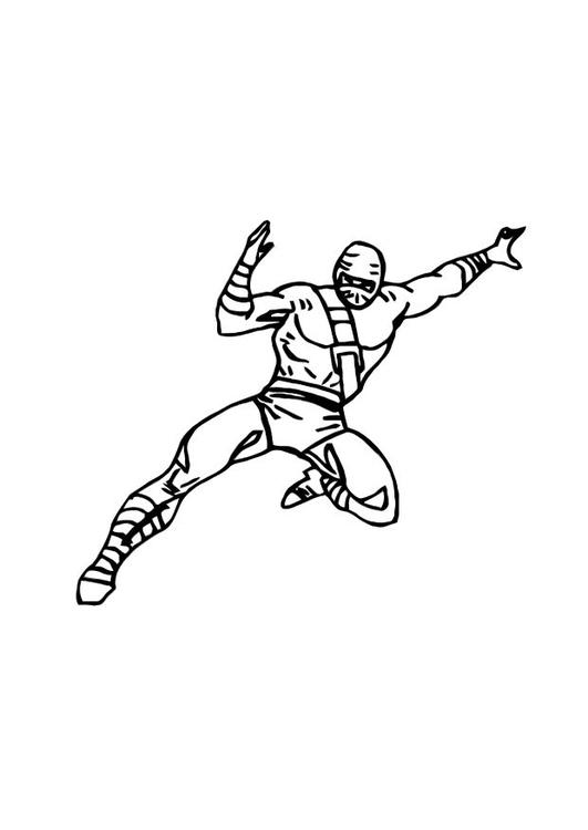 Disegno Da Colorare Ninja Cat 10749 Images