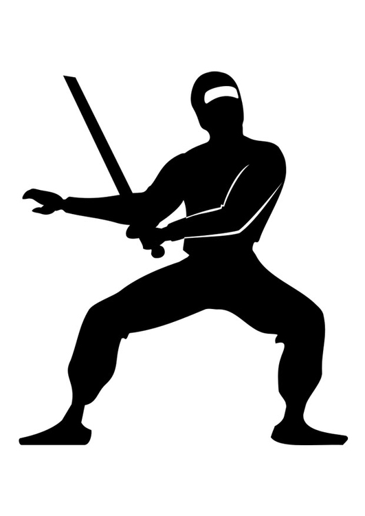 Disegno Da Colorare Ninja Cat 26217 Images