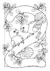 Disegno da colorare numero - 2