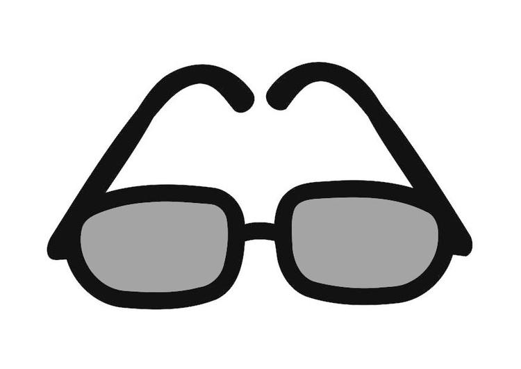 Disegno Da Colorare Occhiali Da Sole Cat 19435