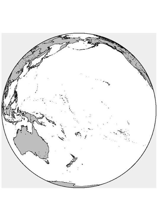 Immagine Selezionata Oceania Da Colorare