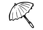 Disegno da colorare ombrellone