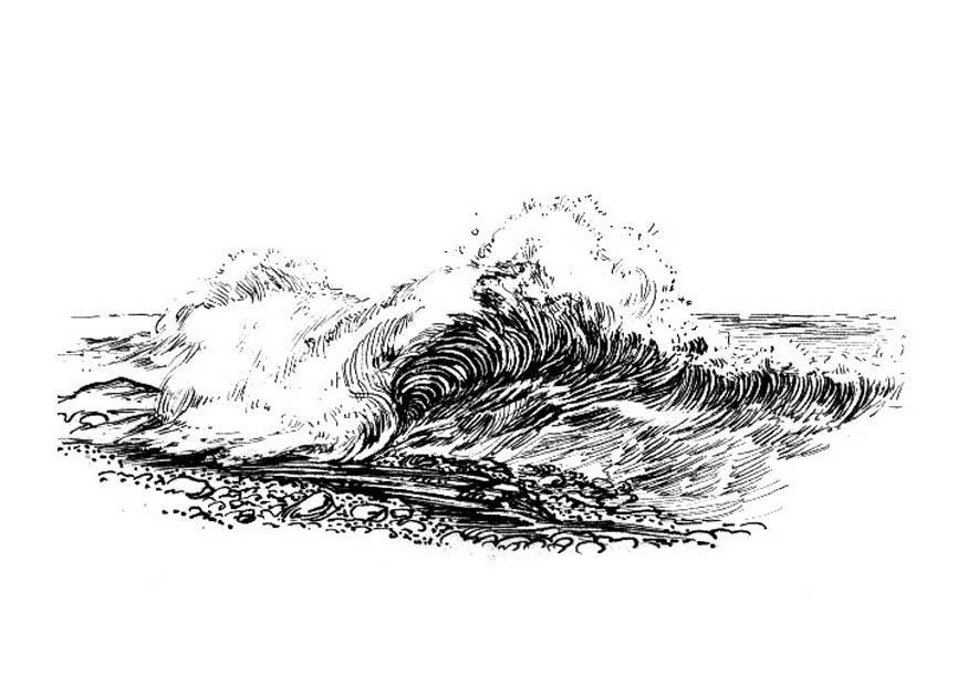 Disegno Da Colorare Onda Cat 18832