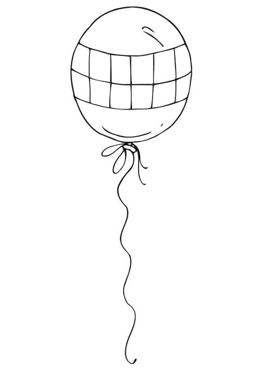 Disegno Da Colorare Palloncino Cat 12542