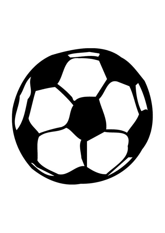 Disegno Pallone Da Colorare.Disegno Pallone Da Calcio