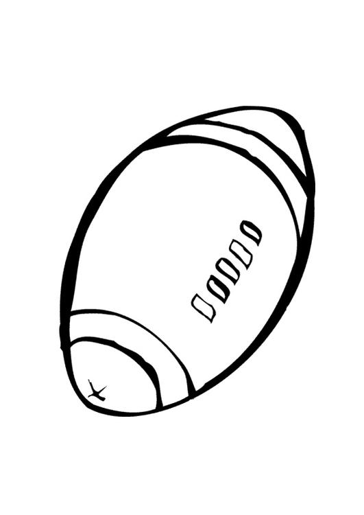 Disegno Pallone Da Colorare.Disegno Da Colorare Pallone Da Rugby Disegni Da Colorare E