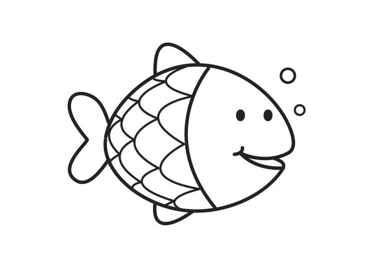 Disegno da colorare pesce cat 17714 for Immagini squali da stampare
