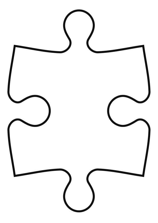 shape puzzle coloring pages - photo#3