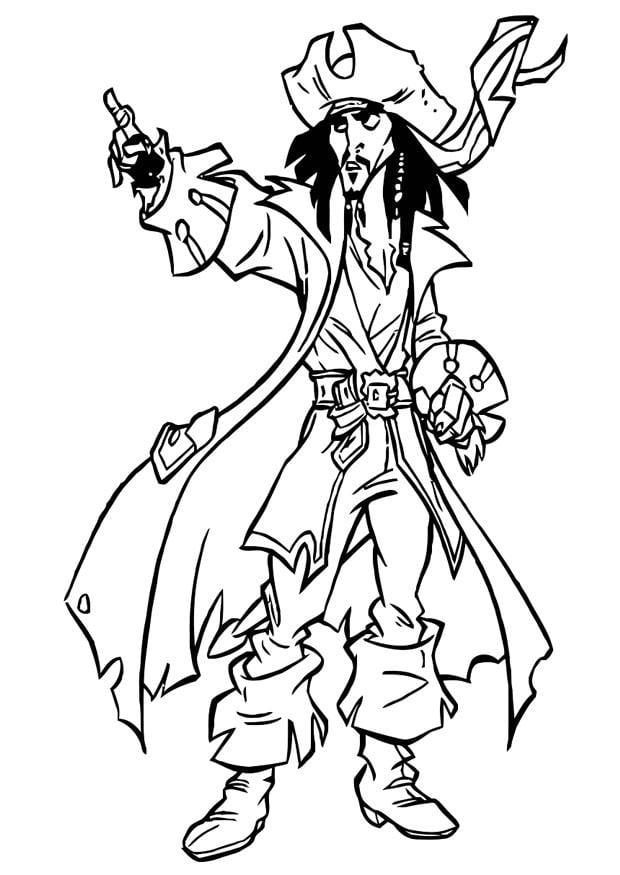 Pirati Dei Caraibi Disegno.Disegno Da Colorare Pirati Dei Caraibi Disegni Da Colorare E