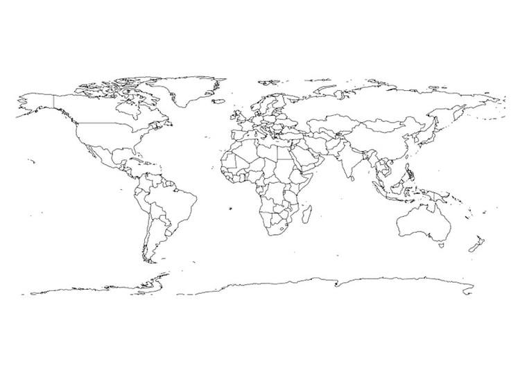 Cartina Asia Da Colorare.38 Disegni Da Colorare Mappe Disegni Da Colorare E Stampare Gratis