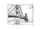 Disegno da colorare ponte