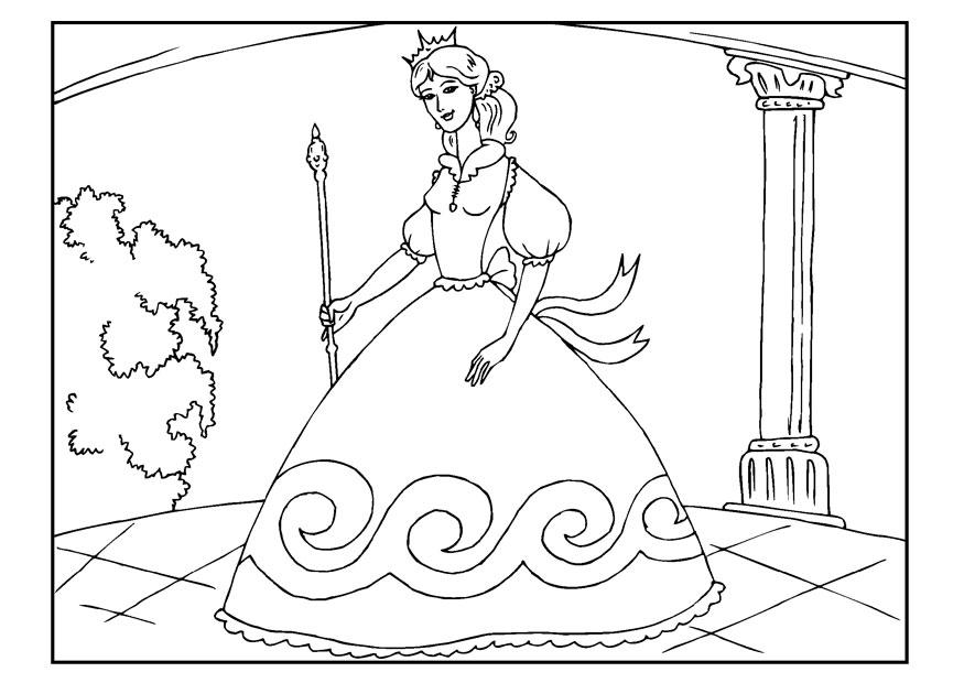 Kleurplaat Frozen Kerst Disegno Da Colorare Principessa Cat 22654 Images
