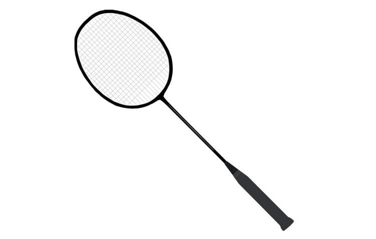 Disegno da colorare racchetta da badminton cat 22712 - Dessin raquette ...