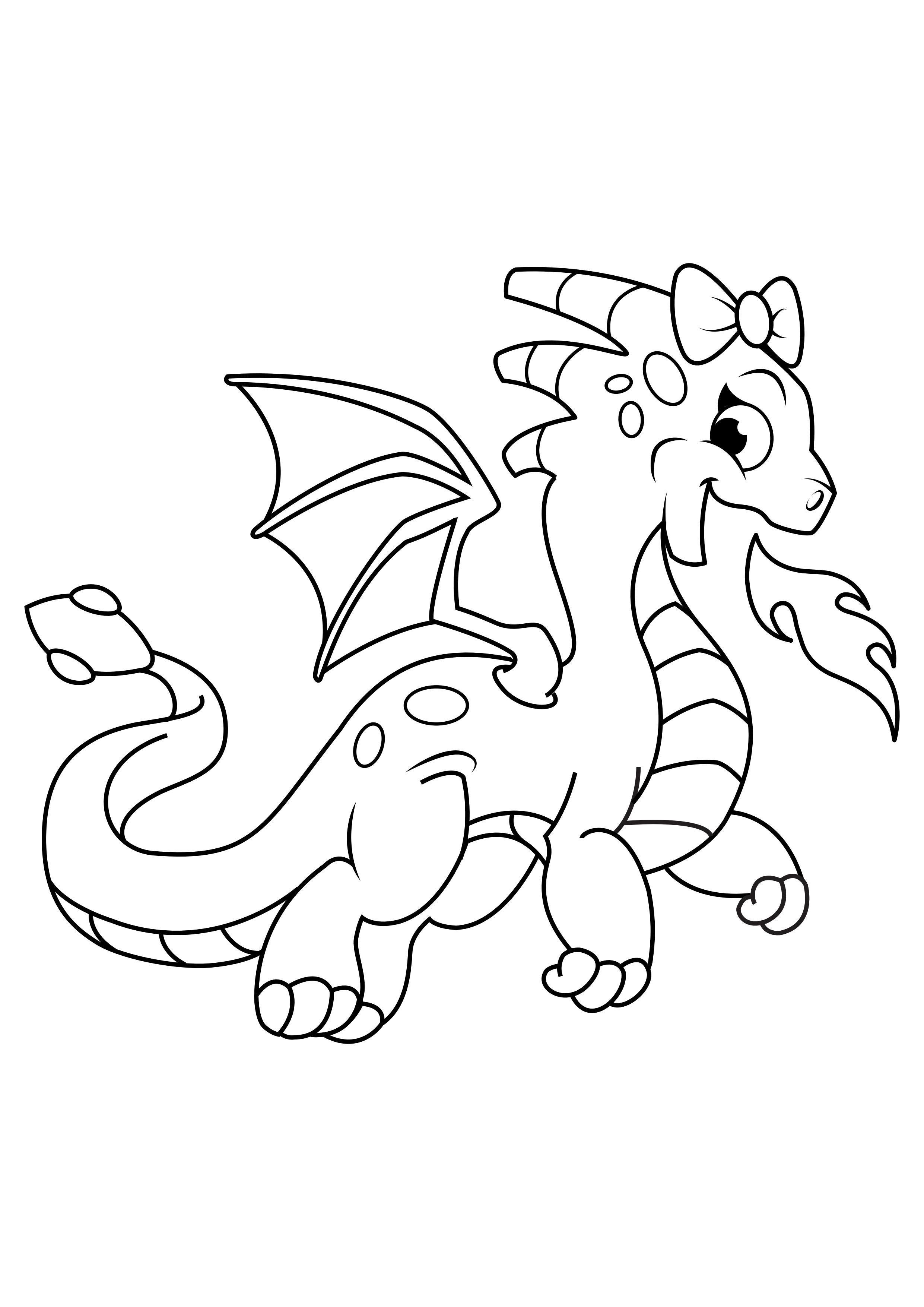 Disegno Da Colorare Ragazza Drago Sputa Fuoco Disegni Da Colorare E Stampare Gratis Imm 31048