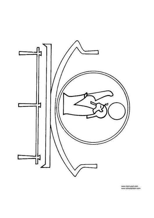 Disegno da colorare rebus cat 12495 for Rebus facili da stampare