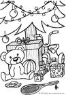 Disegno da colorare Regali di Natale