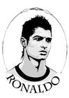 Disegno da colorare Ronaldo