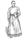 Disegno da colorare sacerdote