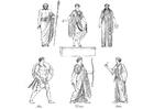 Disegno da colorare Sacerdoti e Dei greci