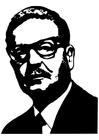Disegno da colorare Salvador Allende