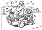 Disegno da colorare San Nicola e Pietro