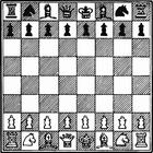 Disegno da colorare scacco