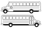 Disegno da colorare scuolabus
