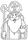 Disegno da colorare Sinterklaas