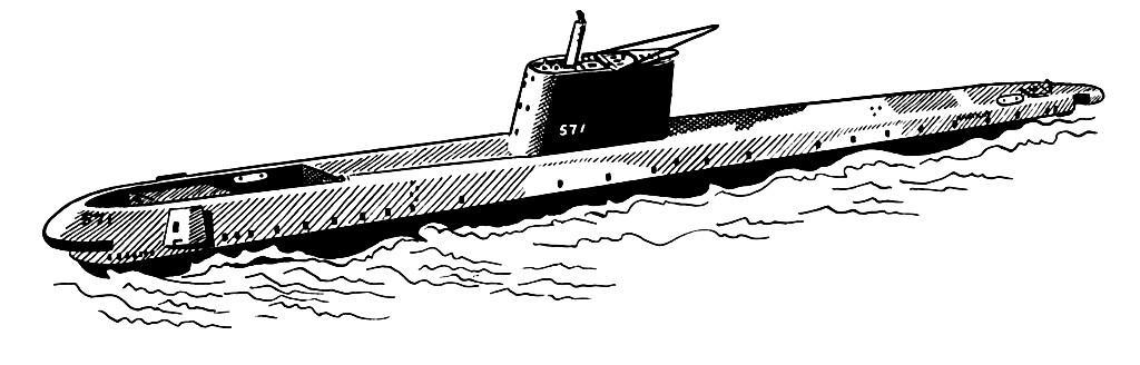 Disegno Da Colorare Sottomarino Cat 16029 Images