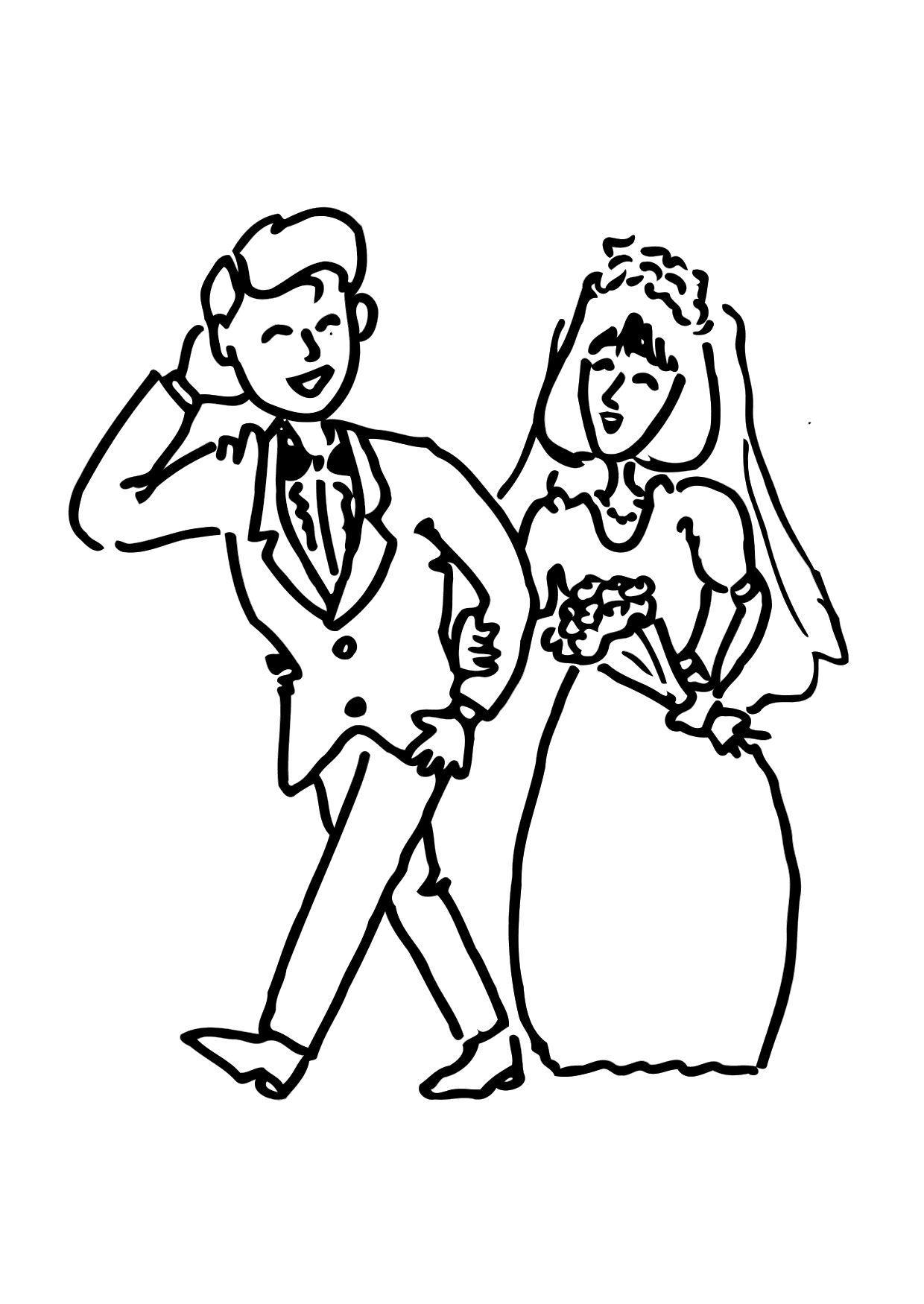 Disegno da colorare sposarsi cat 12144 - Disegno finestra da colorare ...