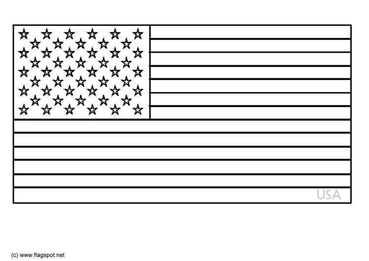 Disegno Da Colorare Stati Uniti