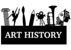 Disegno da colorare storia dell'arte