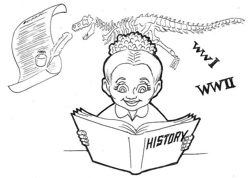 Disegni Da Colorare Storia.Disegno Da Colorare Studiare Storia Disegni Da Colorare E