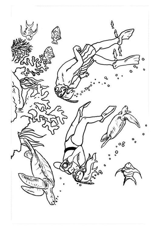disegno da colorare sub cat 11963