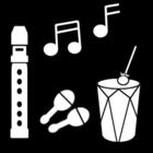 Disegno da colorare suonare musica