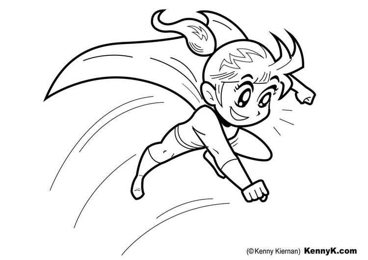Disegno Da Colorare Supereroine Cat 22796