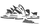 Disegno da colorare Sydney