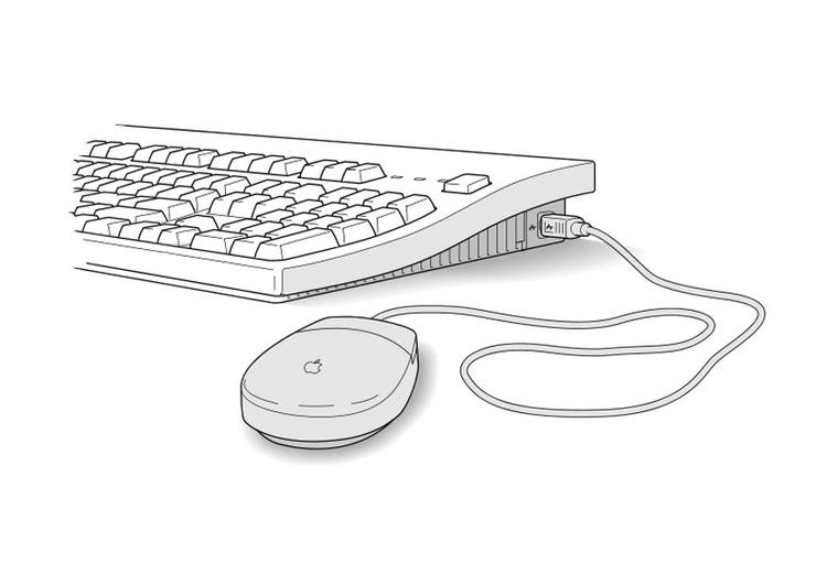 Disegno Tastiera Computer Da Stampare Zwiftitaly