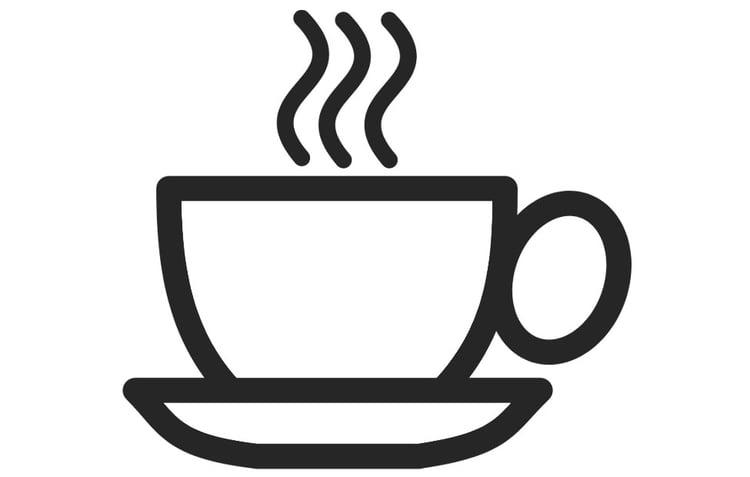 Disegno Da Colorare Tazza Di Caffé Cat 22775