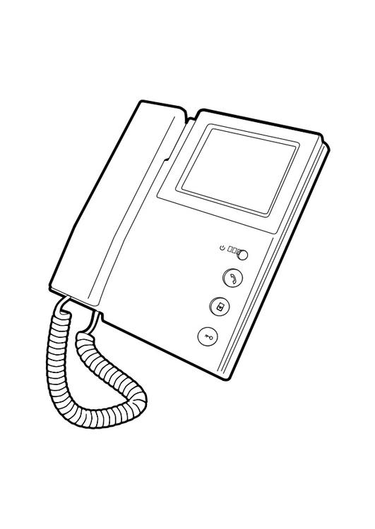 Disegno Da Colorare Telefono Cat 28293 Images